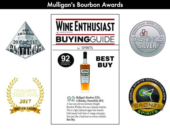 Mulligans Bourbon Awards